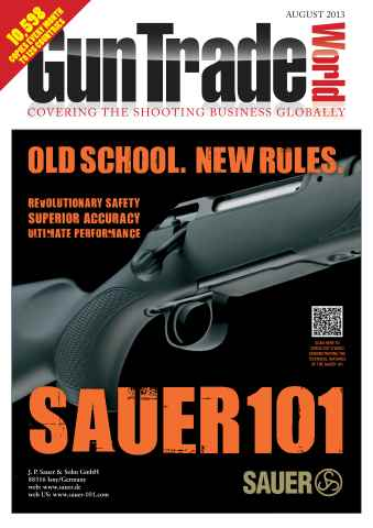 Gun Trade World issue August 2013