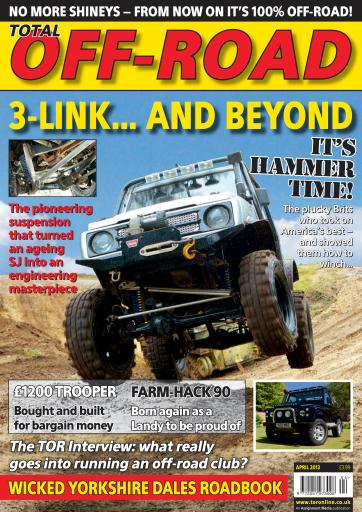 4x4 magazine incorporating total off road april 2013 subscriptions pocketmags. Black Bedroom Furniture Sets. Home Design Ideas