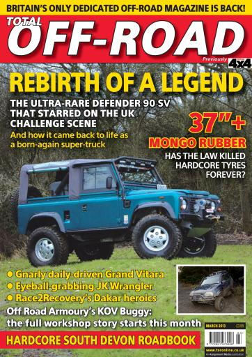 4x4 magazine incorporating total off road march 2013 subscriptions pocketmags. Black Bedroom Furniture Sets. Home Design Ideas