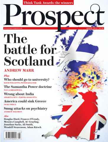 Prospect Magazine issue 209 - August 2013