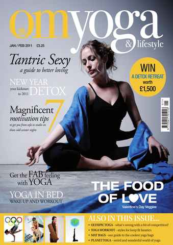 OM Yoga UK Magazine issue Jan-Feb 2011 - Issue 8