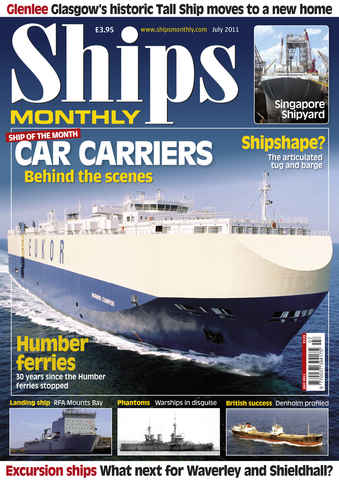 Ships Monthly issue July 2011