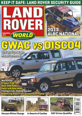 Landrover World issue Landrover World Sept 2013