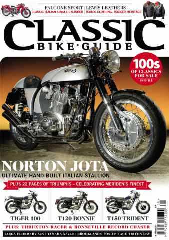 Classic Bike Guide issue August 2013