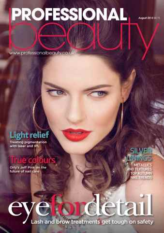 Professional Beauty issue Professional Beauty August 2013