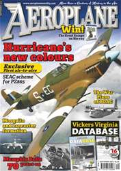 Aeroplane issue No.485 Hurricane & V. Virginia