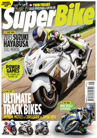 Superbike Magazine issue August 2013