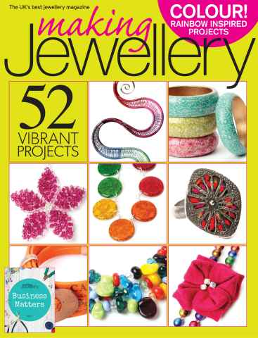 Making Jewellery issue August 2013