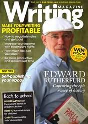 Writing Magazine issue Writing Magazine September 2013
