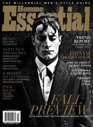Essential Homme issue July-August 2013