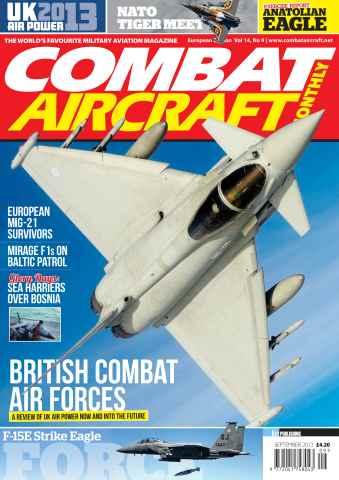 Combat Aircraft issue Vol 14 No 9