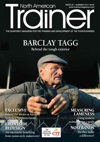 North American Trainer Magazine - horse racing issue Summer 2013 – Issue 29