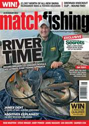 Match Fishing issue August - 2013