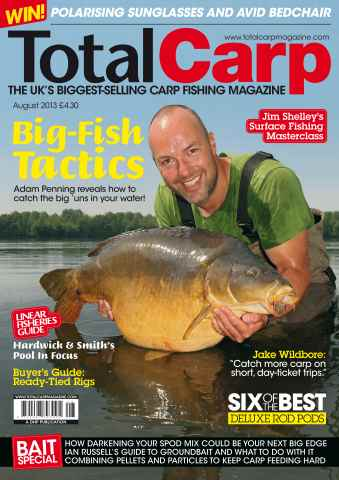 Total Carp issue August 2013