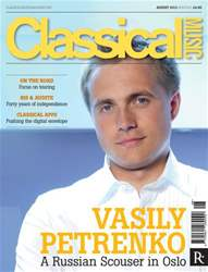Classical Music issue August 2013