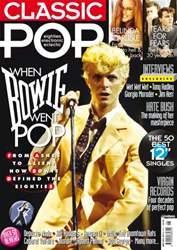 Classic Pop issue Classic Pop David Bowie