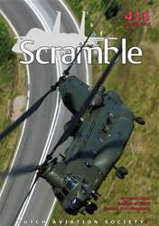 Scramble Magazine issue 411 - August 2013