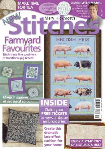 New Stitches issue Issue 239