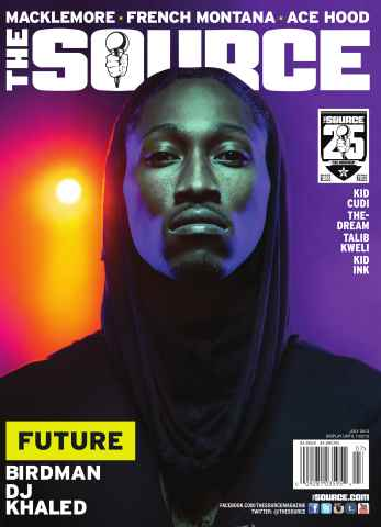 The Source Magazine issue #258 The Source Magazine - Future