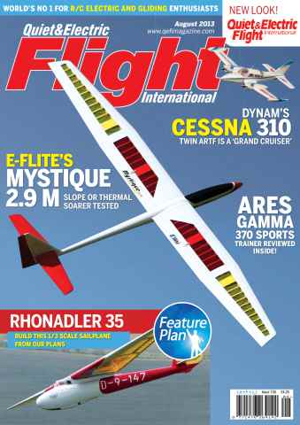 Quiet & Electric Flight Inter issue August 2013