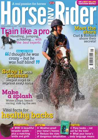 Horse&Rider Magazine - UK equestrian magazine for Horse and Rider issue September 2013