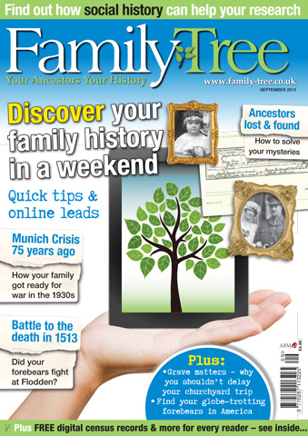 Family Tree issue Family Tree September 2013