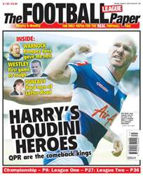 The Football League Paper issue Sunday 5th August 2013