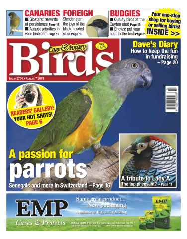 Cage & Aviary Birds issue Cage & Aviary Birds 5764