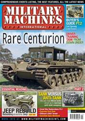 Military Machines International issue September 2013