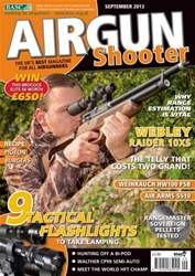 Airgun Shooter issue September 2013