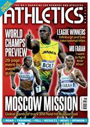 Athletics Weekly issue AW August 8 2013