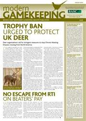 Modern Gamekeeping issue AUGUST 2013