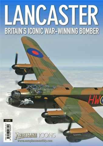 Aeroplane issue Icons - Lancaster