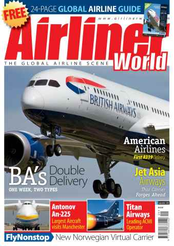 Airliner World issue September 2013