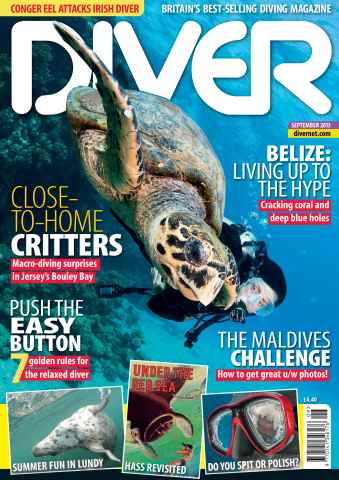 DIVER issue SEPTEMBER 2013