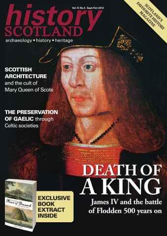 History Scotland issue History Scotland Sept-Oct 2013
