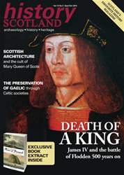 History Scotland issue History Scotland Sept-Oct 2013