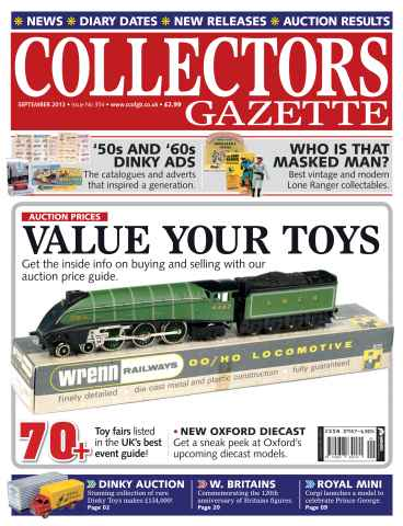 Collectors Gazette issue September 2013