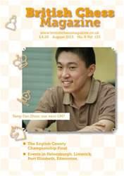 British Chess Magazine issue August 2013