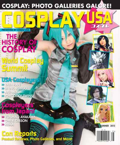 Otaku issue Cosplay USA - Summer 2013