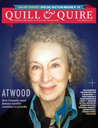 Quill & Quire issue September 2013