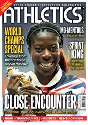 Athletics Weekly issue AW August 15 2013