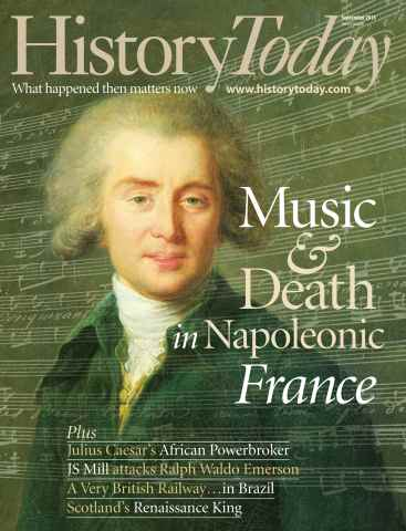 History Today issue September 2013