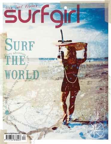 SurfGirl Magazine issue SurfGirl issue 44