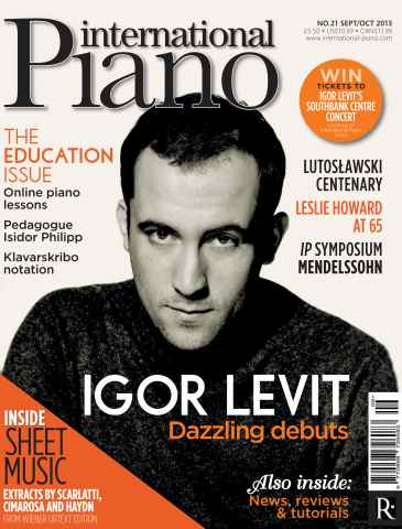 International Piano issue September - October 2013