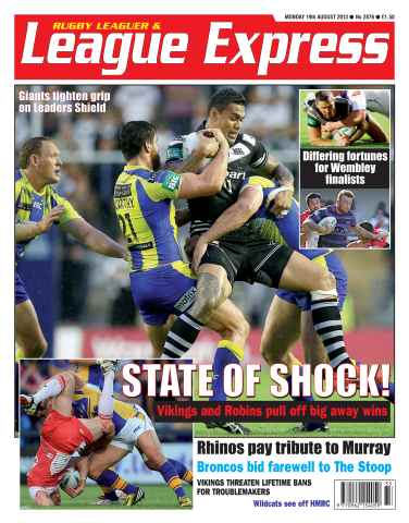 League Express issue 2876
