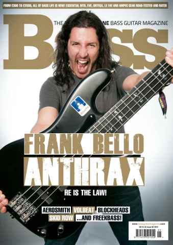 Bass Guitar issue 95 September 2013
