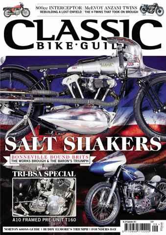 Classic Bike Guide issue September 2013