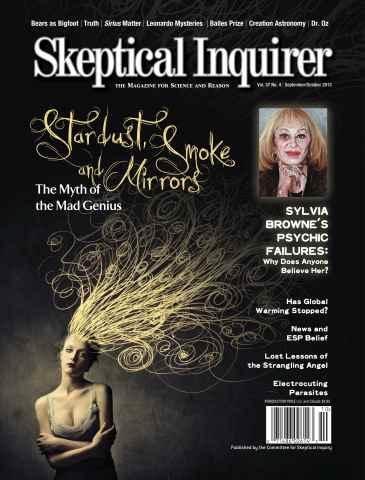 Skeptical Inquirer issue September October 2013