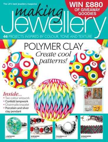 Making Jewellery issue September 2013